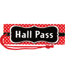 Teacher Created Resources TCR77238 Red Polka Dots Magnetic Hall Pass