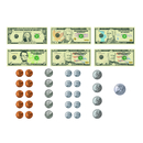 Teacher Created Resources TCR77243 Money Magnetic Accents