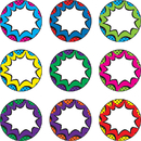 Teacher Created Resources TCR77261 Superhero Bursts Magnetic Accents