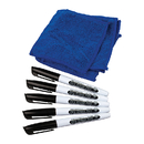 Teacher Created Resources TCR77268 Dry Erase Pens & Microfiber Towels