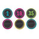 Teacher Created Resources TCR77280 Chalkboard Brights Numbers Magnetic