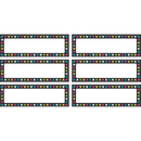 Teacher Created Resources TCR77299 Chalkboard Brights Labels Magnetic