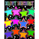 Teacher Created Resources TCR7754 Fancy Stars Happy Birthday Chart