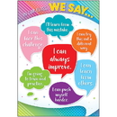 Teacher Created Resources TCR7940 In Our Class We Say Posters Colorful Vibes