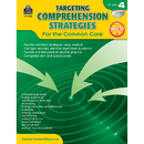 Teacher Created Resources TCR8036 Gr 4 Targeting Comprehension - Strategies For The Common Core