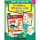 Teacher Created Resources TCR8214 Write-On/Wipe-Off Numbers Shapes & Colors