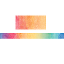 Teacher Created Resources TCR8960 Watercolor Straight Border Trim