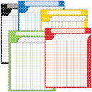 Teacher Created Resources TCR9677 Polka Dot Charts Set 5 Charts