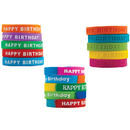 Teacher Created Resources TCR9804 Happy Birthday Wristband Class Pack