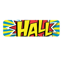Top Notch Teacher Products TOP10120 Plastic Hall Pass Action Hall Pass