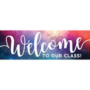 Top Notch Teacher Products TOP10598 Magnetic Welcome Banner Galaxy Script