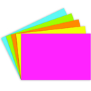 Top Notch Teacher Products TOP361 Index Cards 4X6 Blank 100 Ct Brite Assorted