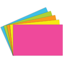 Top Notch Teacher Products TOP364 Index Cards 5X8 Blank 100 Ct Brite Assorted
