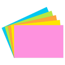 Top Notch Teacher Products TOP365 Index Cards 2X3 Blank 200 Ct Brite Assorted