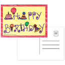 Top Notch Teacher Products TOP5106 Happy Birthday Postcards