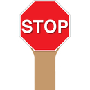 Top Notch Teacher Products TOP5365 Handy Signs Stop