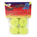 The Pencil Grip TPG230 Chair Socks 4 Ct. Polybag