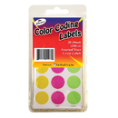The Pencil Grip TPG460 Neon Circle Labels