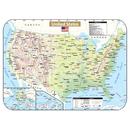 Kappa Map Group / Universal Maps UNI28420 Shaded State Wipe Off Maps Us
