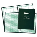 The Hubbard WAR91018 Record & Lesson Plan Combo Book