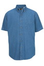 Edwards Garment 1013 Denim Shirt - Men's Denim Shirt (Short Sleeve)