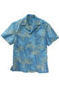 Edwards Garment 1034 Tropical Palm Camp Shirt (Short Sleeve)