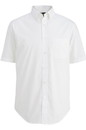 Edwards Garment 1231 Mens' S/S Stretch Poplin Shirt