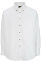 Edwards Garment 1280 Poplin Shirt - Men's Easy Care Poplin Shirt (Long Sleeve) - 65% Poly/35% Cotton