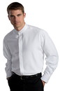 Edwards Garment 1392 Batiste Banded Collar Shirt