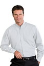 Edwards Garment 1396 Banded Collar Shirt - Men's Banded Collar Shirt (Long Sleeve)
