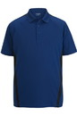 Edwards Garment 1513 Men's Snag-Proof Color Block Short Sleeve Polo