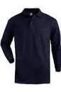 Edwards Garment 1525 Blended Pique Long Sleeve Polo With Pocket