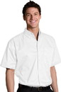Edwards Garment 1740 Twill Shirt - Men's Cotton-Rich Twill Shirt (Short Sleeve)