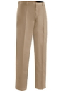Edwards Garment 2574 Flat Front Pant - Men's Flat Front Easy Fit Microfiber  Pant