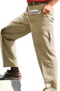 Edwards Garment 2575 Chino Pant - Men's Flat Front Cargo Pant