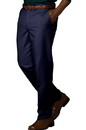Edwards Garment 2578 Chino Pant - Men's Flat Front Easy Fit Chino Pant