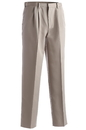 Edwards Garment 2674 Pleated Pant - Men's Pleated Easy Fit Microfiber Pant