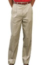 Edwards Garment 2677 Utilty Pant - Men's Utility Chino Pant (Pleated Front)