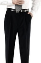 Edwards Garment 2695 Pleated Pant - Men's Pleated Polyester Pant (No 35