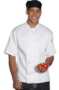 Edwards Garment 3306 Chef Coat - Ten Button Short Sleeve Chef Coat