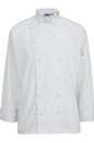 Edwards Garment 3318 12 Cloth Button Classic Chef Coat