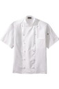 Edwards Garment 3331 Chef Coat - Twelve Button Lightweight Chef Coat With Mesh