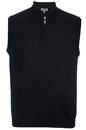 Edwards Garment 4052 Quarter-Zip Sweater Vest