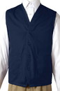 Edwards Garment 4106 Apron Vest - Two Pocket Apron Vest
