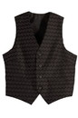Edwards Garment 4391 Brocade Vest - Men's Brocade Swirl Vest