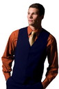Edwards Garment 4490 Economy Vest - Men's Polyester Vest