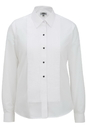 Edwards Garment 5393 Ladies Tuxedo Shirt 1/4 Pleat