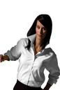 Edwards Garment 5975 Oxford Shirt - Women's Soft Collar Pinpoint Shirt (Long Sleeve)