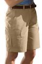 Edwards Garment 8473 Flat Front Cargo Shorts - Women's Flat Front Cargo Short
