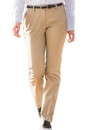 Edwards Garment 8555 Ladies' Slim Chino Flat Front Pant